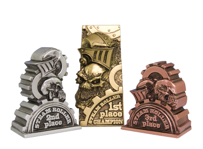 Image result for steam roller trophy